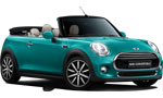 rent a Mini Cooper Cabrio<br>Mini One Cabrio