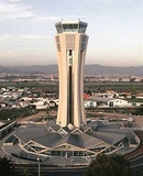 Tower of Control at Malaga Airport