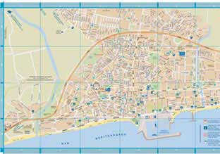 Callejero Mapa De Malaga Capital.Callejero De Fuengirola Andaluciacar Com