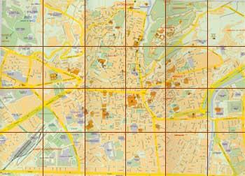 Callejero Mapa De Granada Capital.Callejero De Granada Andaluciacar Com