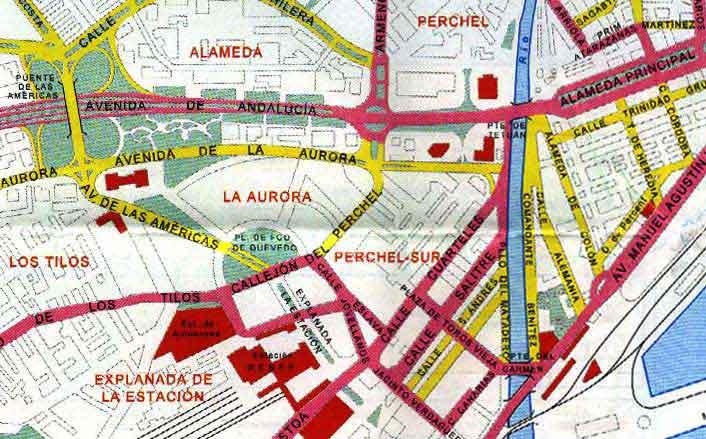 Malaga street map 8